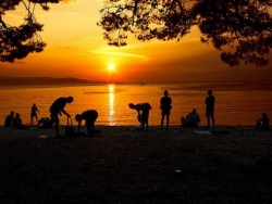makarska-croatia-sunset