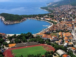 makarska-from-air